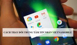 Thay đổi trung tâm tin nhắn Vietnamobile trên iPhone