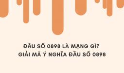 0898 là mạng gì